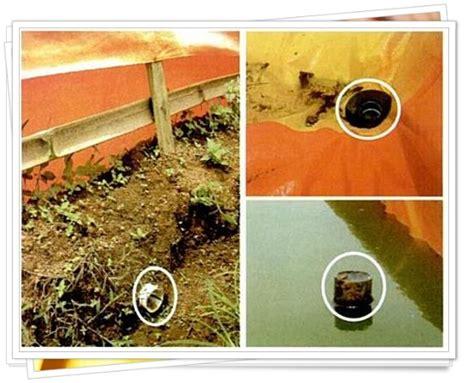 Harga Terpal Kolam 6 8 tips dan trik membuat saluran pembuangan air di kolam