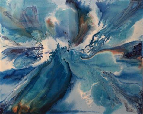 acrylic paint artiste abstract classes lessons learn how to paint