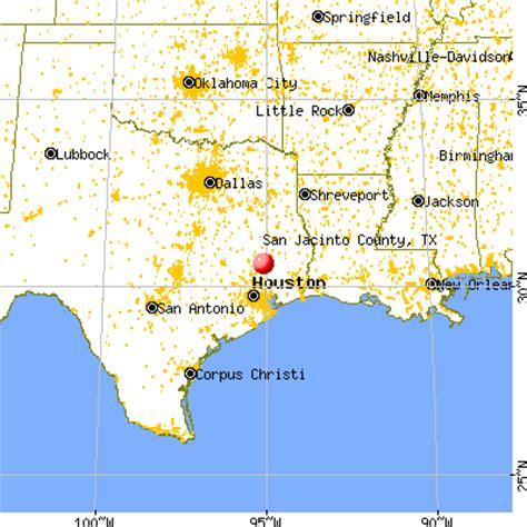 san jacinto texas map san jacinto county texas detailed profile houses real estate cost of living wages work