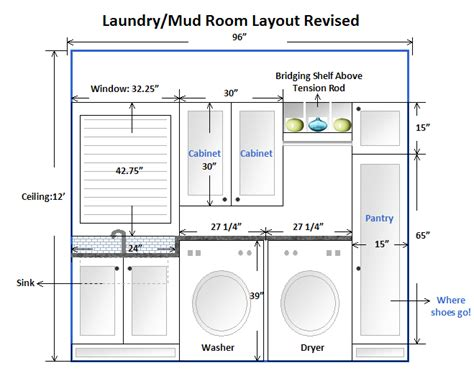 room design layout laundry room am dolce vita
