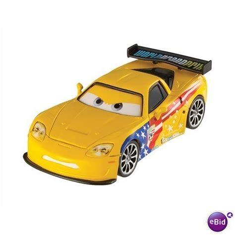 cars characters yellow character cars 2 jeff gorvette corvette die cast disney