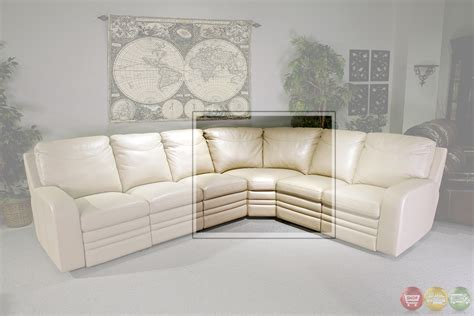 cream leather sectionals parker living steinbeck cream top grain leather sectional