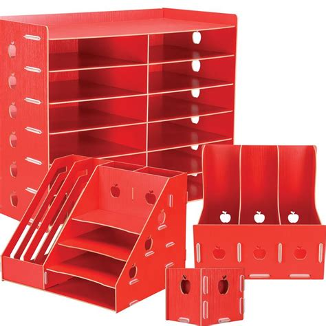 Teachers Desk Accessories Red Apple Theme Kit S Desk Accessories