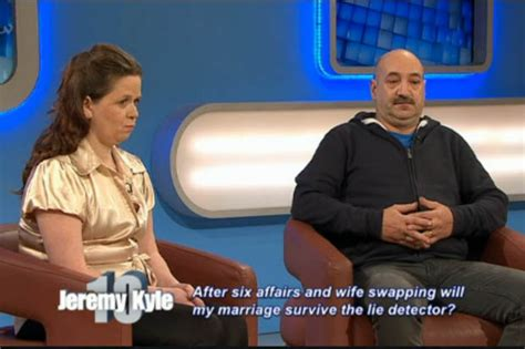 swinging wife creie don t say you need a wife single jeremy kyle gets lesson