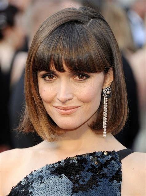 blunt cut hairstyles with bangs 100 hottest short hairstyles haircuts for women