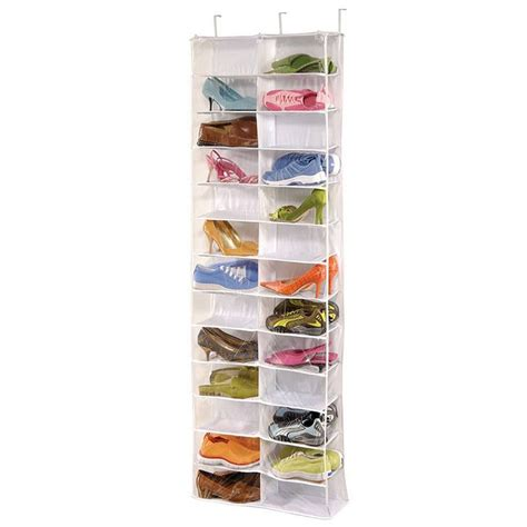 Closet Door Shoe Rack Shoe Rack Storage Organizer Holder Folding Hanging Door Closet 26 Pocket Il Ebay