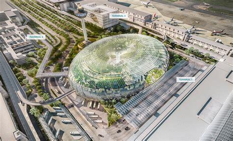 Incheon Airport Floor Plan by Jewel Changi Airport