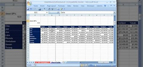 How Do Pivot Tables Work by How To Create Work With Pivot Tables Pivottables In