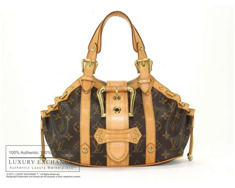 authentic louis vuitton monogram theda gm bag