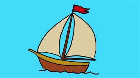 dessin d un bateau à voile comment dessiner un bateau 224 voile youtube