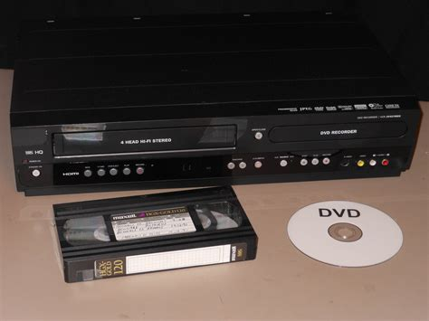 cassette to dvd vhs transfer to dvd using combo recorder