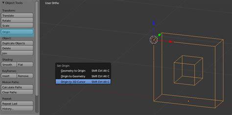 reset origin tool 79 blender tool shelf images user preferences