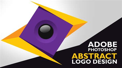 design logo photoshop youtube how to make logo in photoshop cs6 abstract logo design