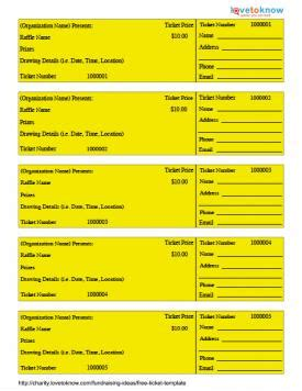 free ticket template | lovetoknow