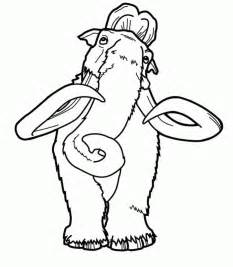 ice age coloring pages getcoloringpages