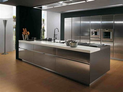 the kitchen gallery aluminium and stainless steel how to paint metal kitchen cabinets midcityeast