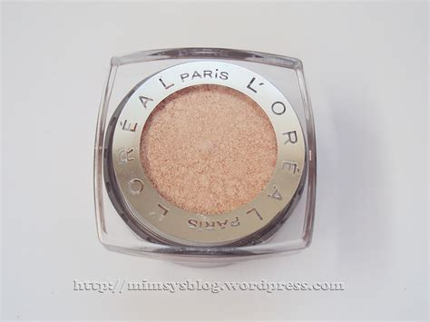 L Oreal Infallible Eyeshadow l oreal infallible 24 hr eye shadow iced latte mimsy s