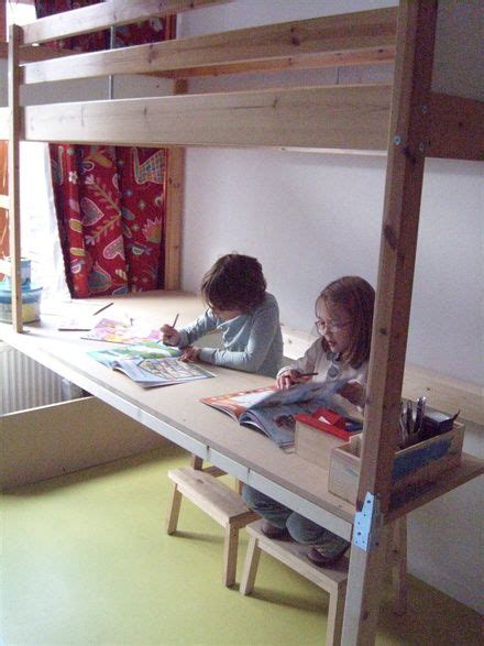 desk under bed 17 best images about bunk bed ideas on pinterest daily deals bunk bed curtains and