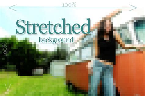 html div exles how do you stretch a background image in css