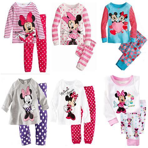 Marvelous Baby Girl Christmas Pyjamas #10: Children-boys-girls-kids-font-b-Clothing-b-font-Sets-font-b-Minnie-b-font-font.jpg
