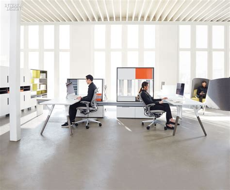 teknion benching teknion s upstage system personalizes the workplace