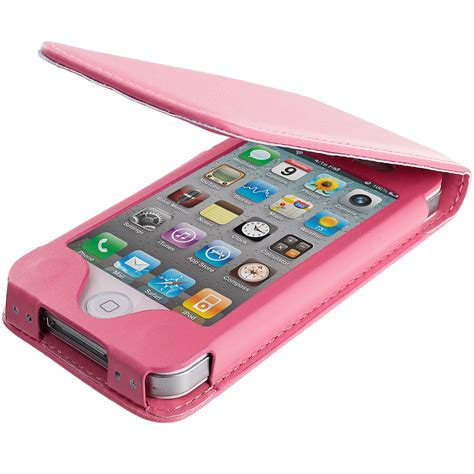 Flipcover Iphone 44g4s for apple iphone 4 4s wallet pouch flip magnetic closing cover holder ebay