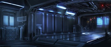interior space space ship interior by waqasmallick on deviantart