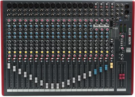 Allenheath Zed 22fx Stereo Mixer With Effect allen heath zed 22fx mixer with usb and effects sweetwater