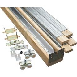 Door Kit by Shop Stanley National Hardware Pocket Door Hardware Kit At