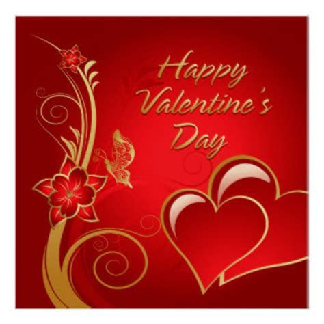 valentines day posters happy valentines day posters zazzle