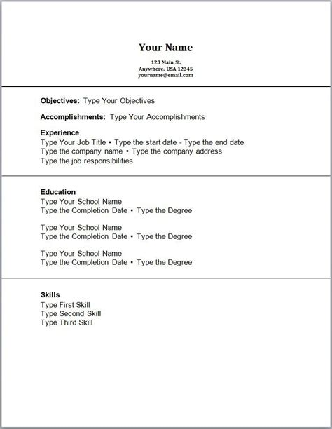 downloadable free resume templates all best cv resume ideas
