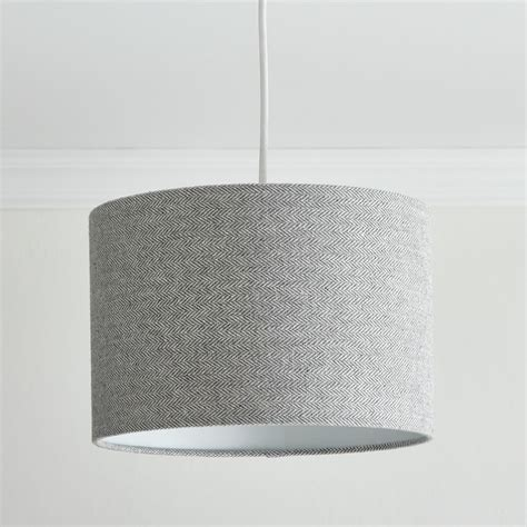 light gray shades wilko herringbone shade grey 30cm at wilko com