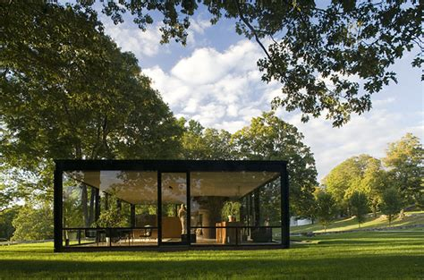 philip johnson s glass house photo essays time