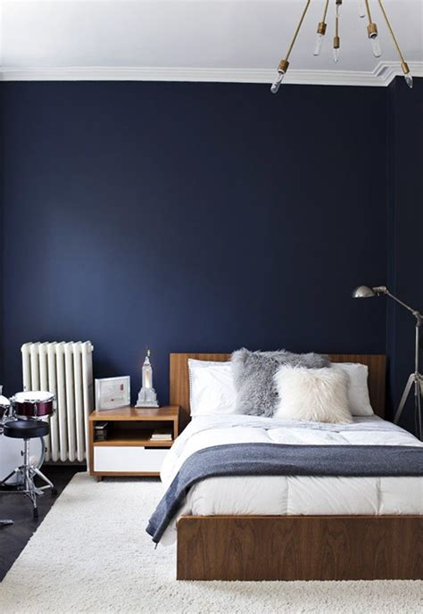 decorate  apartment  navy blue stylecaster
