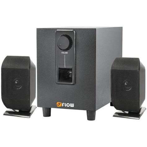 flow 2 1 home theater speaker system bc tv mobile computer