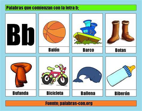 Imagenes Que Empiecen Con La Letra B Para Recortar | lista de im 225 genes de palabras que comienzan con la letra b