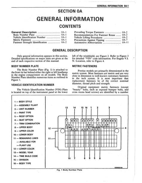 how to download repair manuals 1986 pontiac firebird trans am regenerative braking 1986 pontiac firebird service repair manual