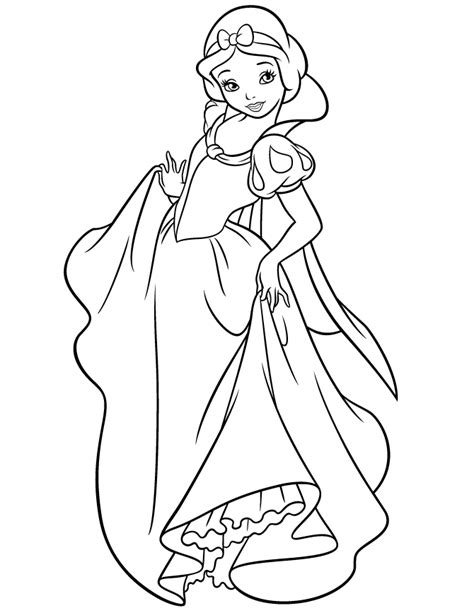 snow white coloring pages disney snow white coloring pages az coloring pages