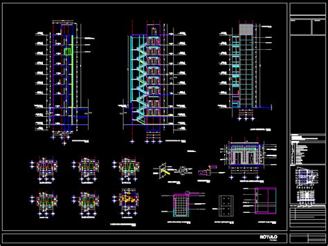 elevator project dwg full project  autocad designs cad