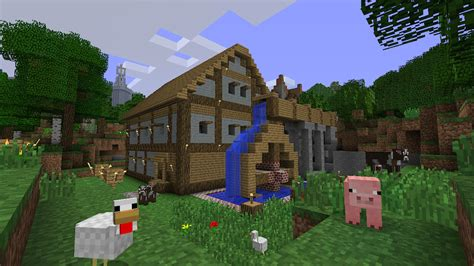 Minecraft: Xbox 360 Edition Review (360)   Thomas Welsh