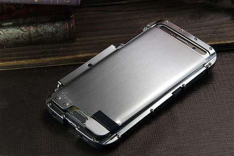 Bumper Stainless Samsung J1 armor king iron luxury shockproof stainless steel