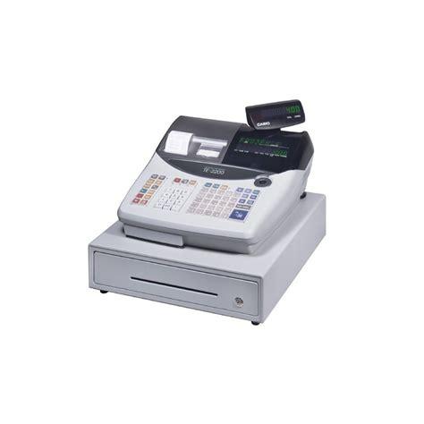 Mesin Kasir Mini Jual Harga Mesin Kasir Casio Te 2200