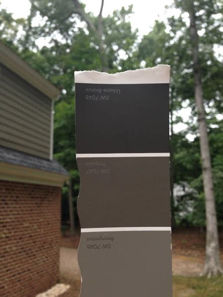 sherwin williams exterior metal paint painting our garage doors a richer deeper color