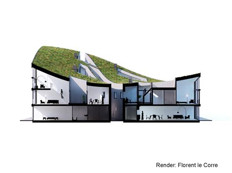 render section gallery of funen blok k verdana nl architects 42