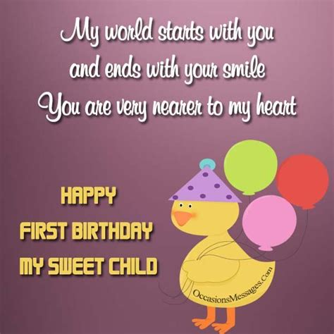wishes to my 1st birthday wishes birthday messages for babies