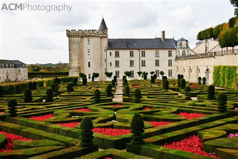 Formal French Gardens - photographing the chateau villandry acm photography