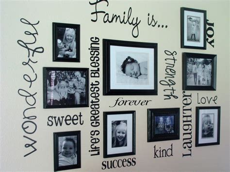 wall frame ideas 30 family picture frame wall ideas