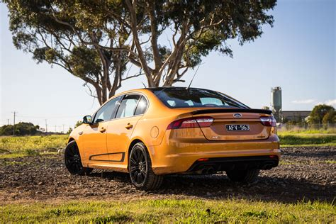 orange cars 2016 2016 ford falcon xr6 sprint and xr8 sprint review exhaust