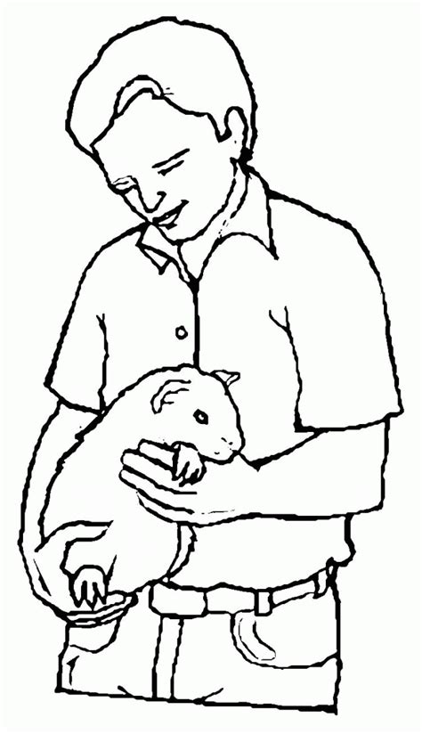 coloring page of a guinea pig guinea pigs coloring pages coloring home