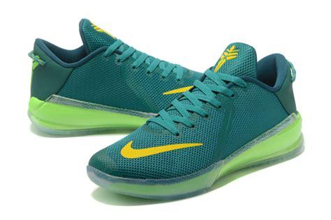 green yellow basketball shoes nike zoom venomenon vi 6 basketball shoes green